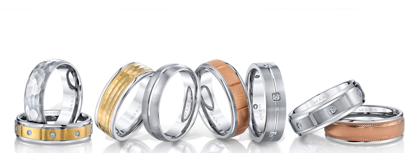Men's Fine Wedding Bands at Arezzo Jewelers - Chicago, IL.