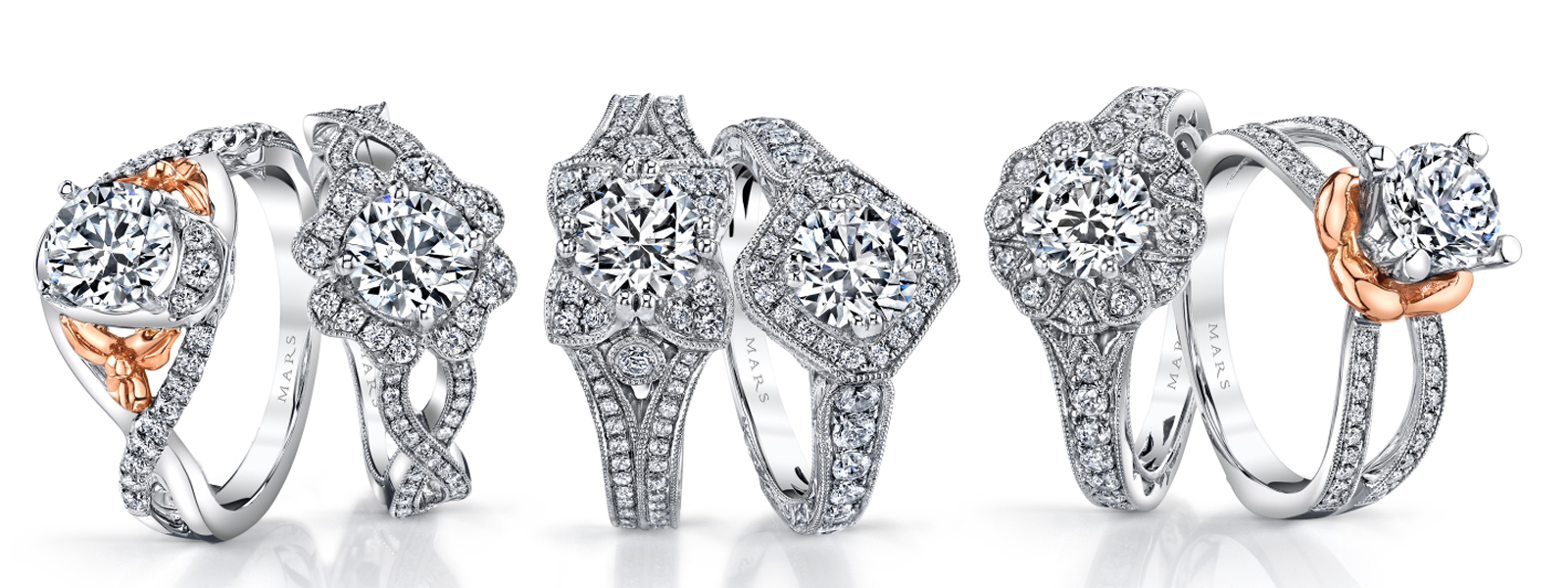 Fine Diamond Engagement Rings - at any budget. Arezzo Jewelers - Chicago, IL.