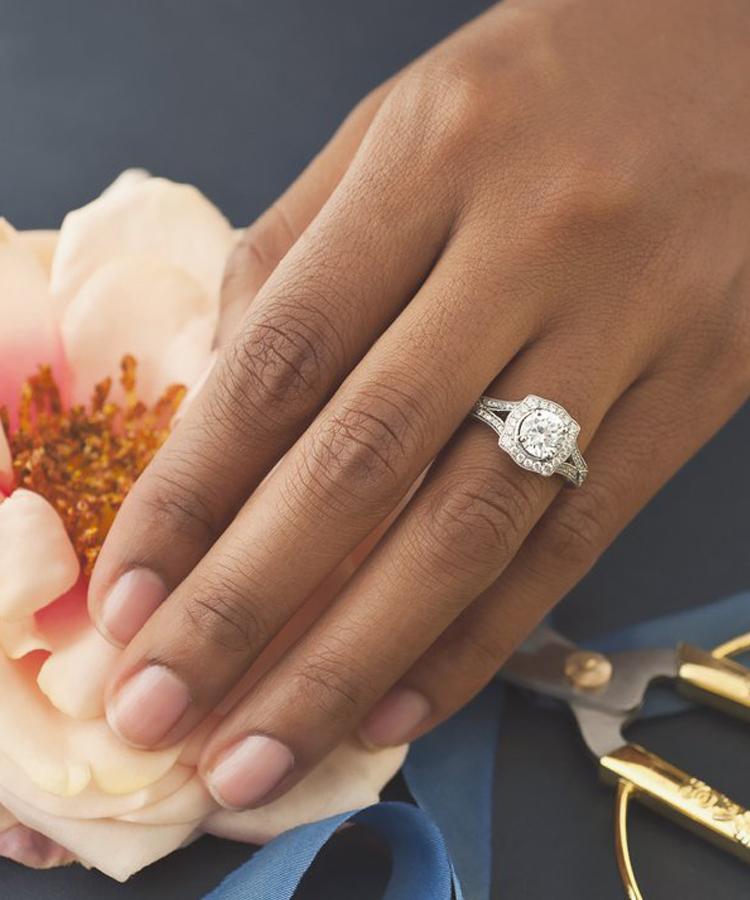Mars Diamond Engagement Rings at Arezzo Jewelers - Chicago, IL. Arezzo Jewelers Chicago, IL
