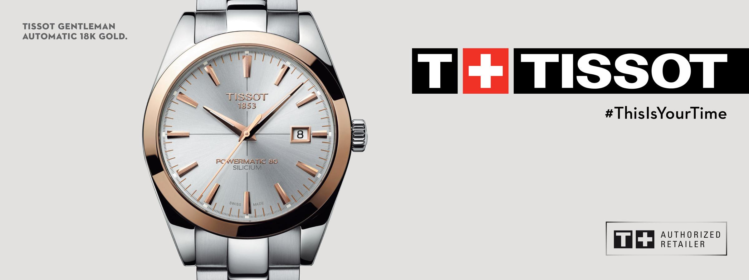 Tissot Watches - Graziella Fine Jewellery