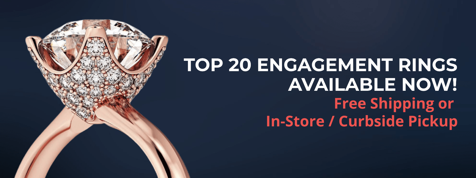 Top 20 Engagement Rings Available Now at Robert Irwin Jewelers
